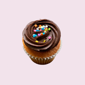 Opposites Attract Cupcake